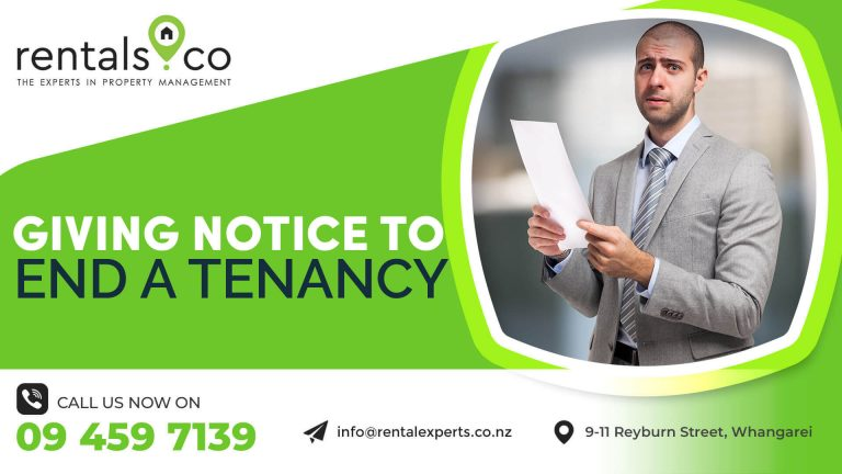 Property Management: Giving Notice to End a Tenancy