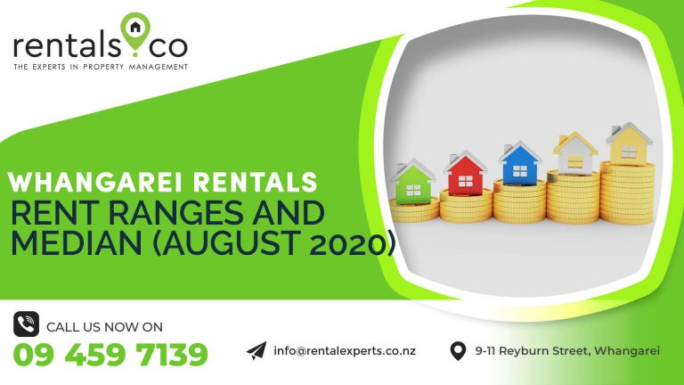 whangarei rentals rent ranges and median 01